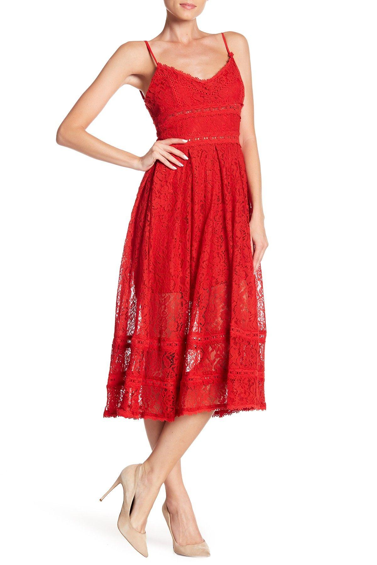 Nsr Sleeveless Lace Midi Dress Nordstrom Rack Red Midi Dress Lace Midi Dress Midi Dress [ 1800 x 1200 Pixel ]