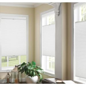Unbranded Top Down Bottom Up White Cordless Cellular Shade 33 In W X 64 In L 14126 The Home Depot In 2020 Cellular Shades Cordless Cellular Shades Home Decorators Collection
