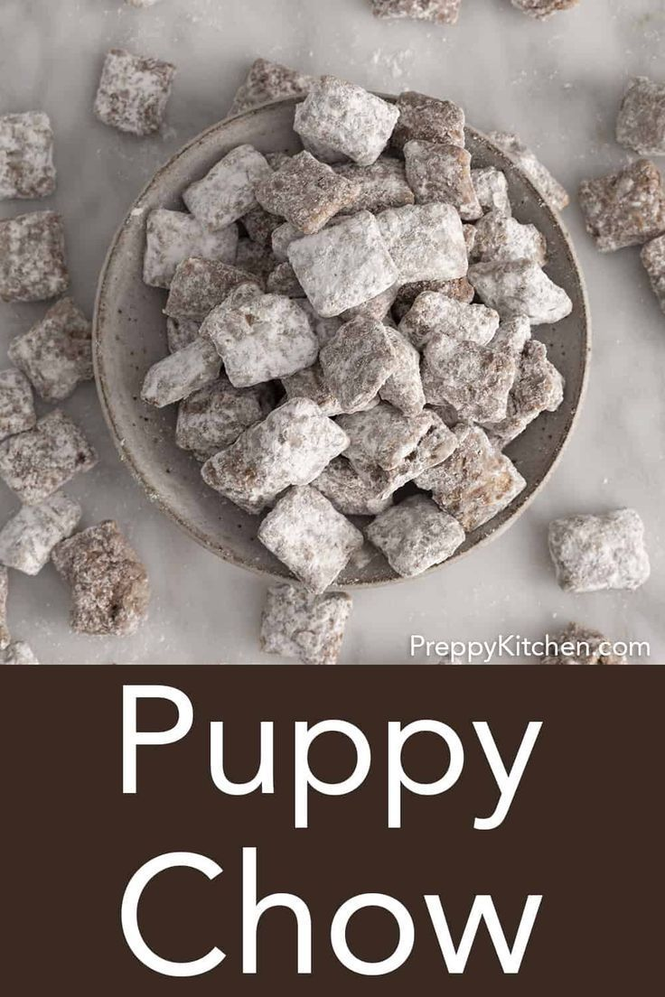 This delicious puppy chow recipe, A.K.A. muddy buddies
