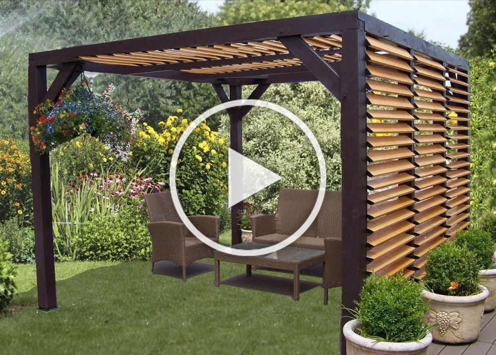 Habrita Pergola Carport Ombra Bois Prix Promo Carport Carrefour Online 1 690 00 Terrace Garden Design Terrace Design Garden Design