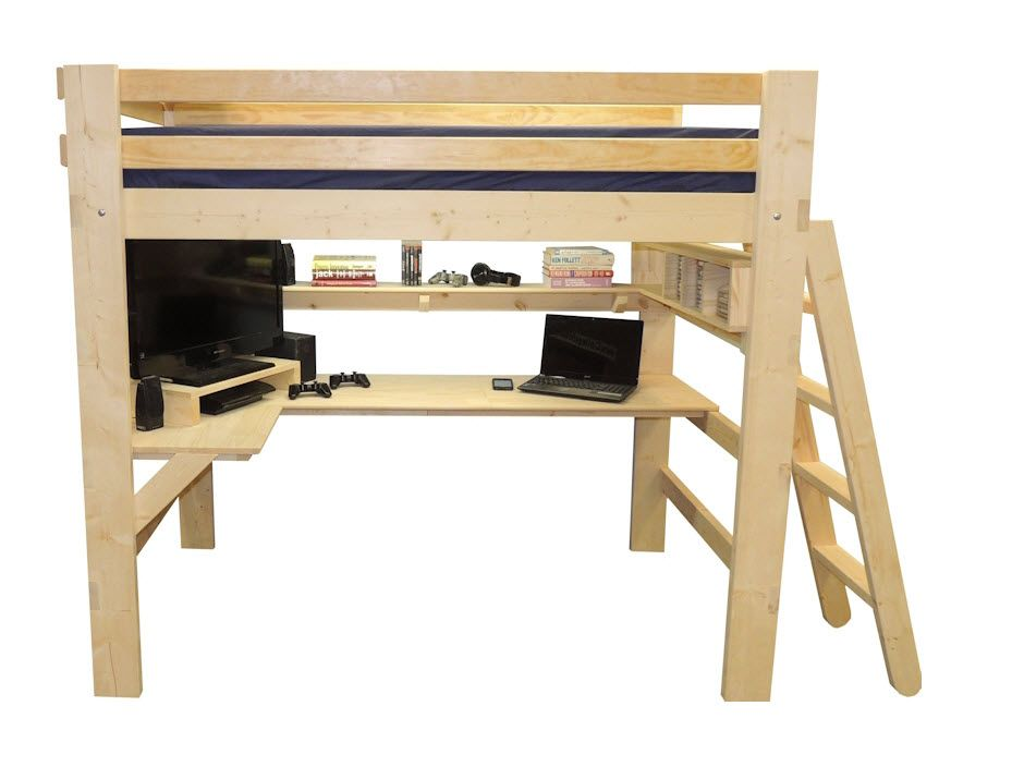Gaming Entertainment Center Loft Bed This Bed Was Designed For