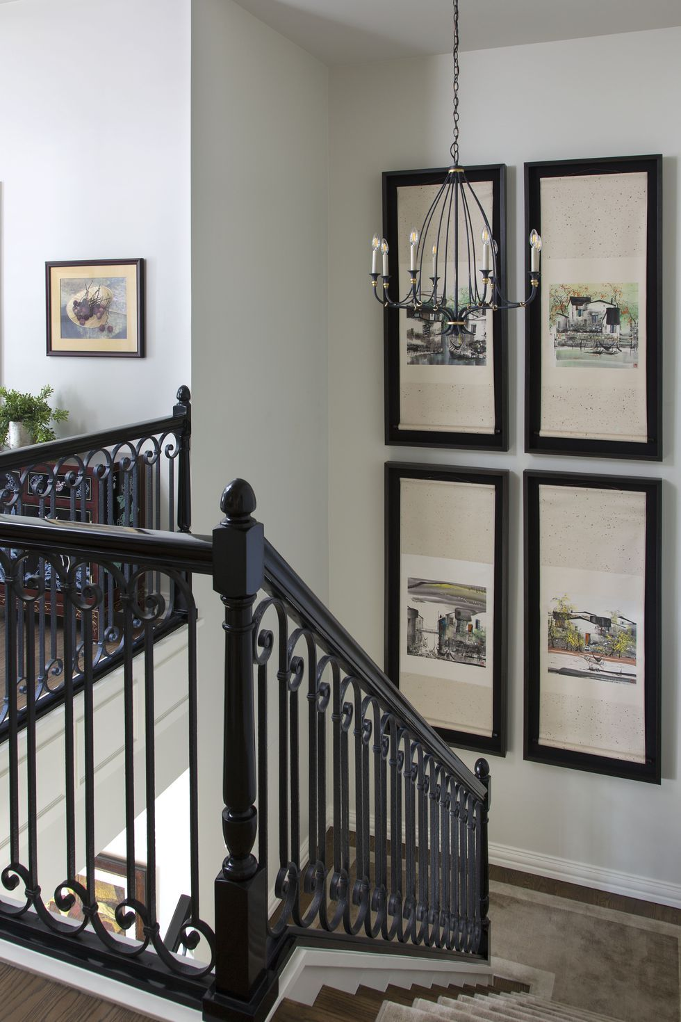 27 stylish staircase decorating ideas staircase wall on wall decorations id=45313