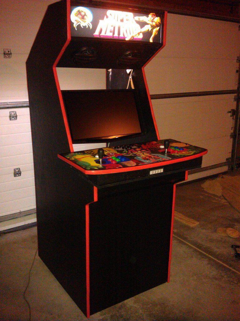 Raspberry Pi Game Cabinet Diy Nintendo Wii Arcade Machine Diy Home Hacks Arcade Game