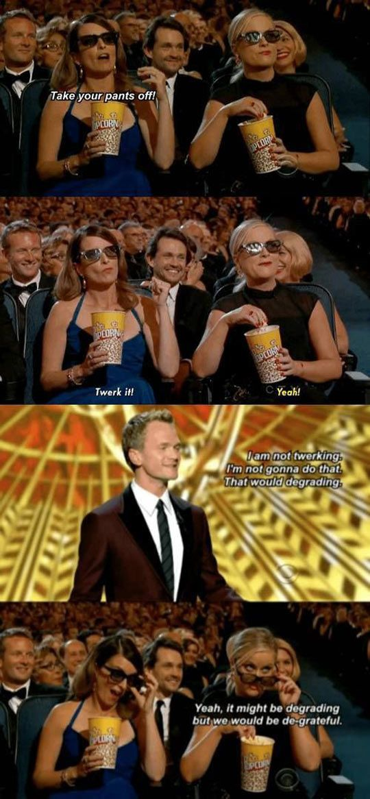 Funny Neil Patrick Harris: These three are the best.