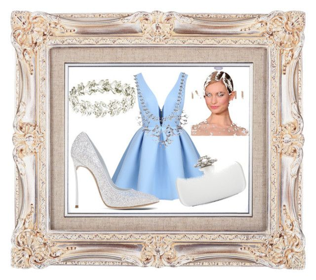 🎀CINDERELLA🎀 by marzia88 on Polyvore featuring polyvore, fashion, style, Casadei, Oscar de la Renta, Forever 21 and clothing