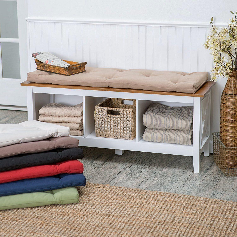 27 Diy Storage Bench Design Ideas For Your Unique Living Room Decoration Indoor Storage Bench Living Room Bench Storage Bench With Cushion Living room bench with cushion