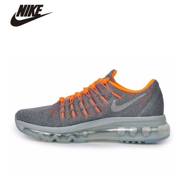 77d2a8fa56 NIKE AIR MAX 2016 GS Original Women's Running Shoes Sneakers For Woman Sport  Shoes Lifestyle #807236-003
