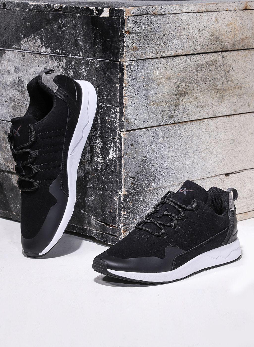 HRX by Hrithik Roshan Black Sneakers