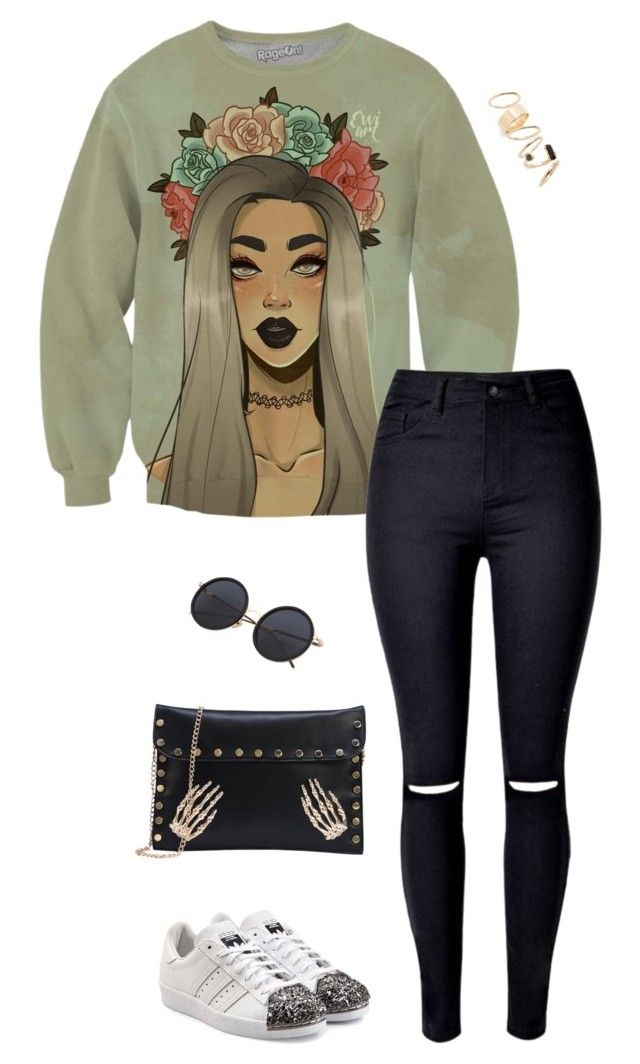 """""""Untitled #3458"""" by meandelstyle ❤ liked on Polyvore featuring adidas Originals and BP."""