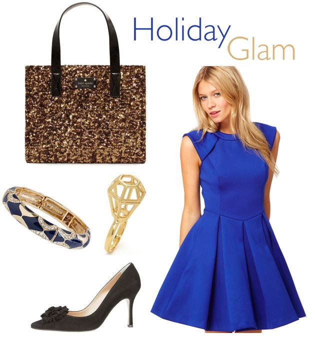 blue-holiday-cocktail-dresses | color stories | Pinterest | Shops ...
