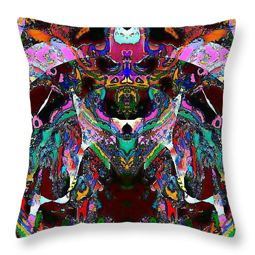 """The Chariot Throw Pillow 14"""" x 14"""""""