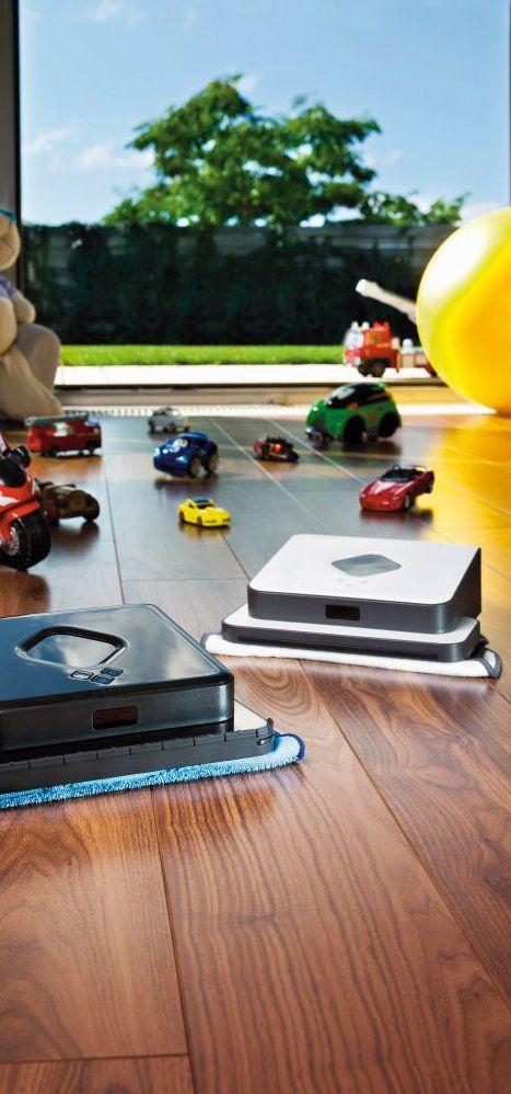 Toto si musím kúpiť! Robotický vysávač je super, ale robotický mop, to už je mega. Na moje podlahy sa mi bude hodiť ten mop asi viac. A dobrá cena je na neho! http://www.irobot.sk/aktuality/novinka-prvy-roboticky-mop-na-trhu/
