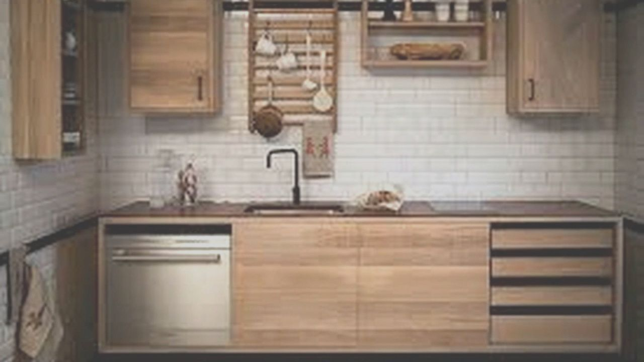 Desain Kitchen Set Dari Kayu Pinus in 4  Scandinavian kitchen