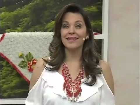 Programa Arte Brasil - Flor em Crochê Tapete Hexágono - Maria José