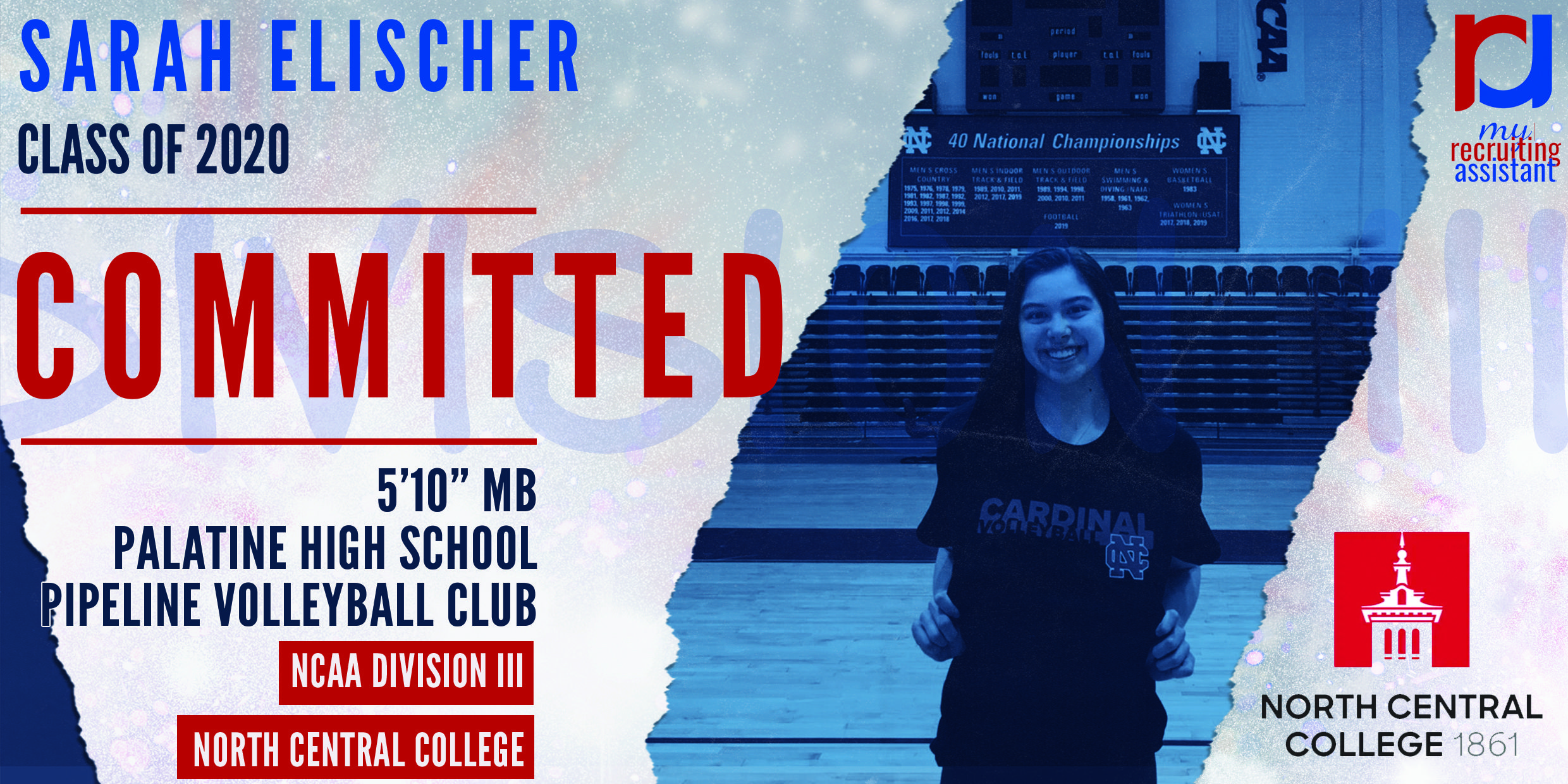 Another March 2020 Mra Commit In 2020 National Championship Volleyball Clubs Commitment