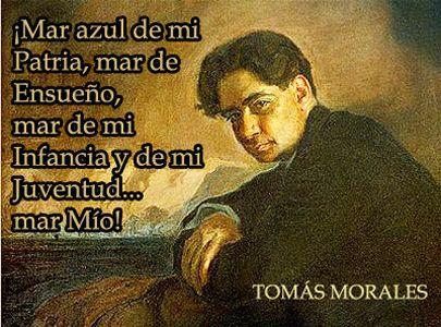 Tomás Morales Poeta Modernista Nacido En Gran Canaria