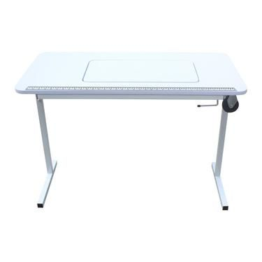 Semco Foldaway Compact Sewing Table White Spotlight Australia