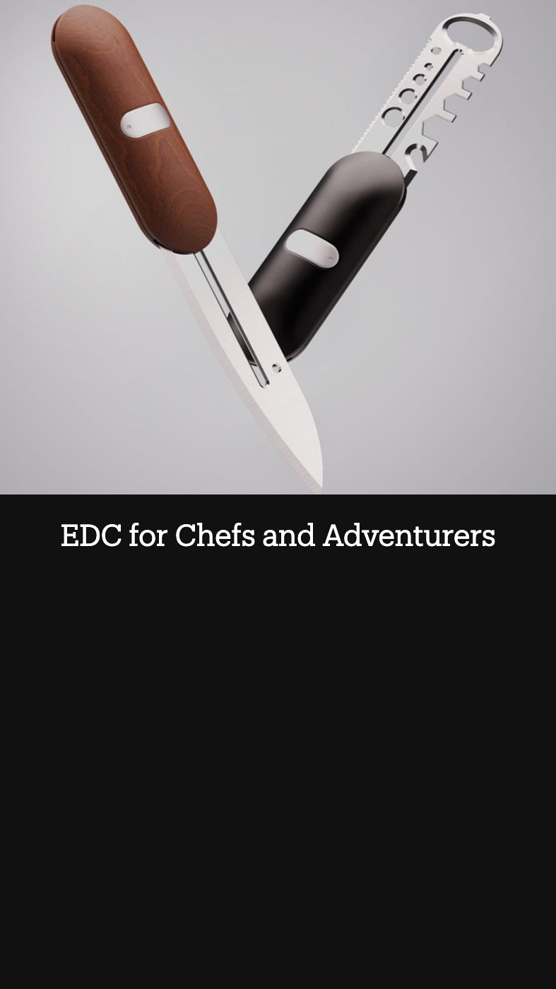 EDC for Chefs and Adventurers
