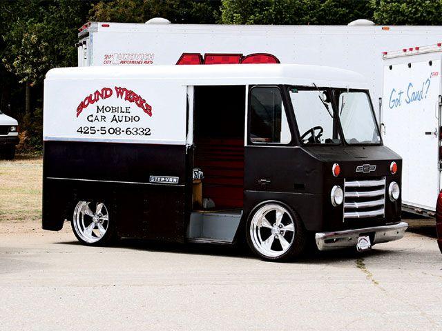 Classic Custom Vans Used Diesel Stepvans For Sale In Edmonton Area Step Van Trucks Sport Truck