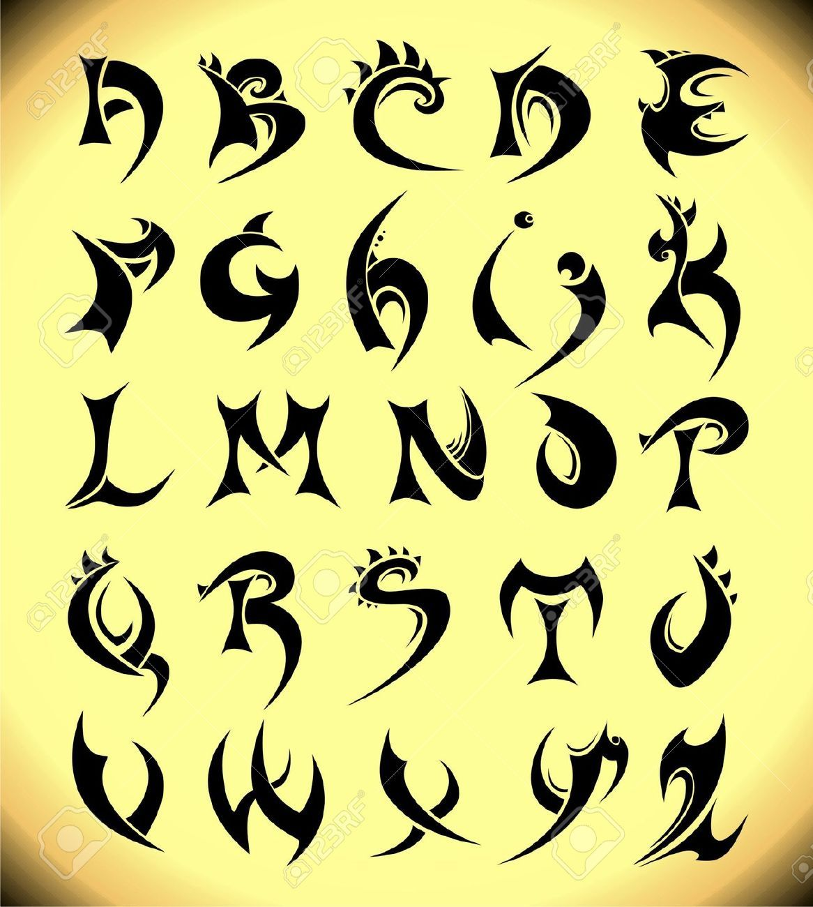 Alphabet S Tattoo Designs For Men 17 Best Images About Cool Fonts How To Draw And