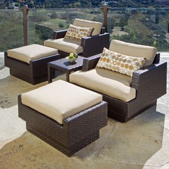 Marvelous Costco Portofino Signature Club Chair And Ottoman 2 Pack Beutiful Home Inspiration Ommitmahrainfo