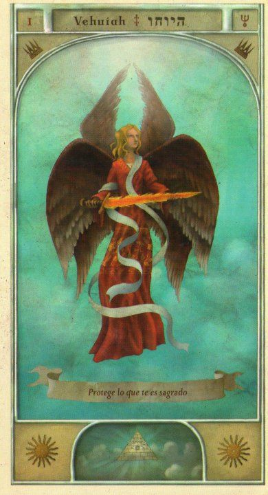 1  vehuiah  kabbalistic angel  protects those born 21