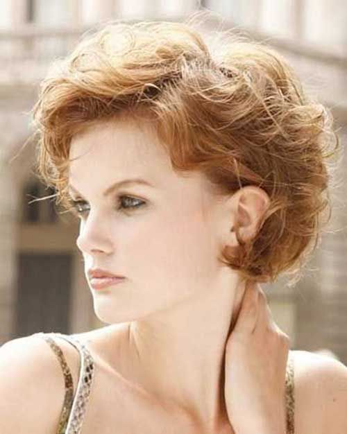 25 Short Hairstyles for Curly Hair 2015 – 2016