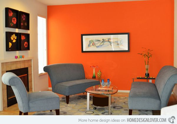 Orange Paint Colors For Living Room 15 interesting living room paint ideas | living room paint, paint