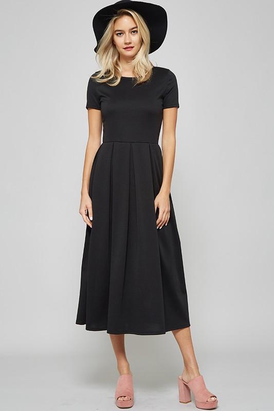 35+ Fit and flare midi dress ideas