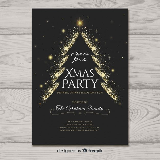 christmas poster #weihnachten Free printable download Christmas party invitation poster template #christmas #party #invitation #poster #template #freeprintable