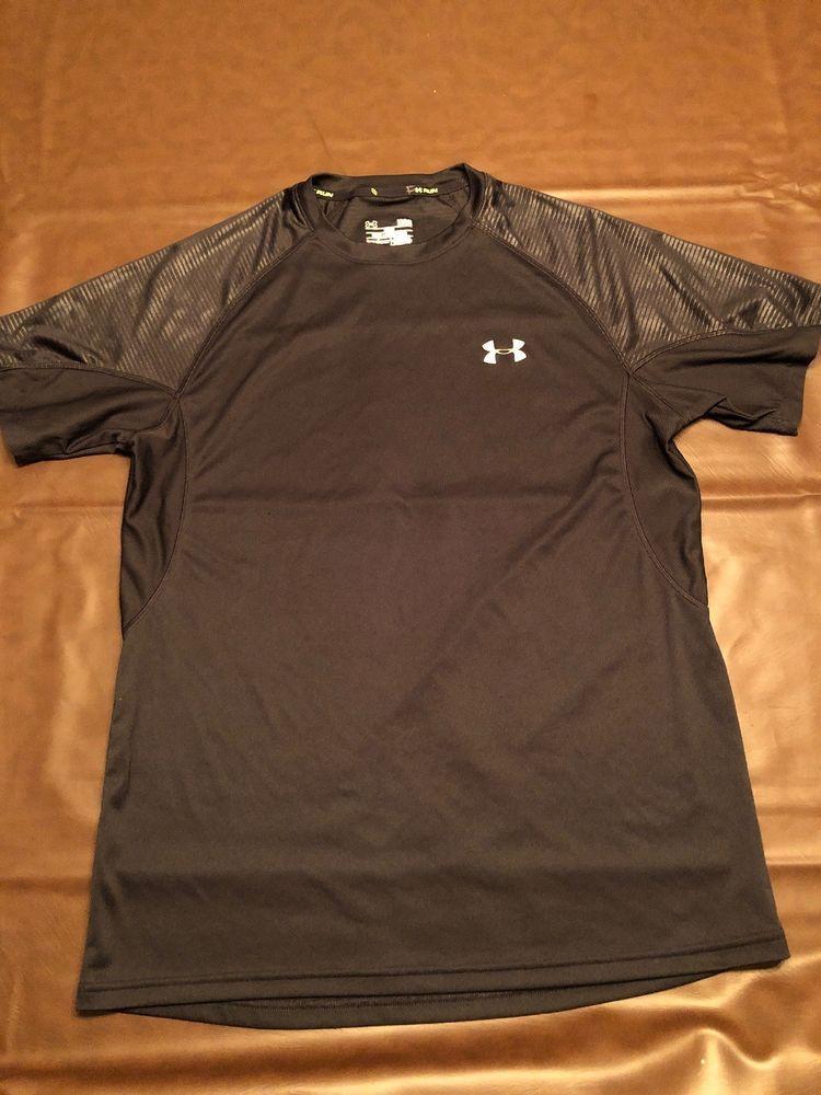 2c7c617b431 Under Armour Heat Gear Coldback Run Black Mens Athletic Shirt Large  fashion   clothing  shoes  accessories  mensclothing  activewear (ebay link)