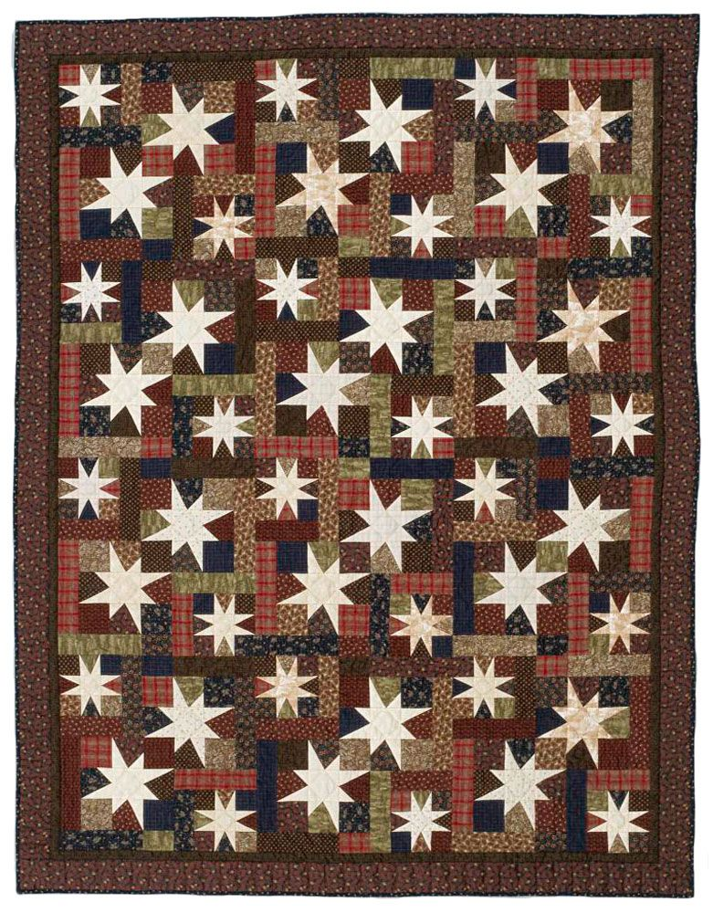 Shimmer: Two different stars create the twinkling effect that ... : different quilting patterns - Adamdwight.com
