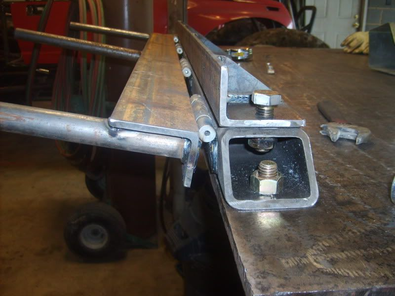 Metal Objects With Press Brake Made : Home made sheet metal brake pirate and off