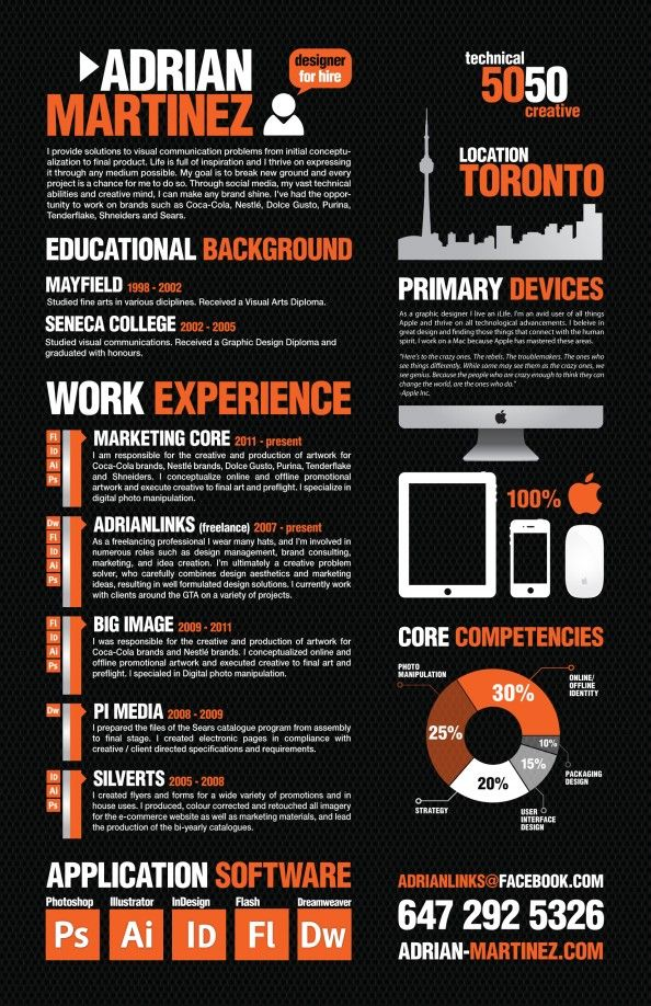 graphic design resume Interview Pinterest Graphic design
