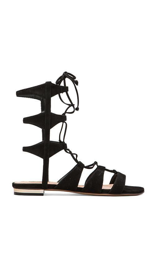 Schutz Erlina Sandal in Black | REVOLVE