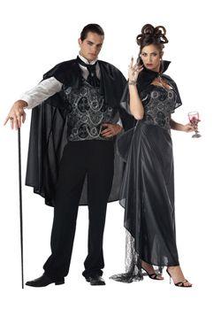Ladies Bloodlust Vamp Gothic Vampiress Fancy Dress Horror Halloween Costume New