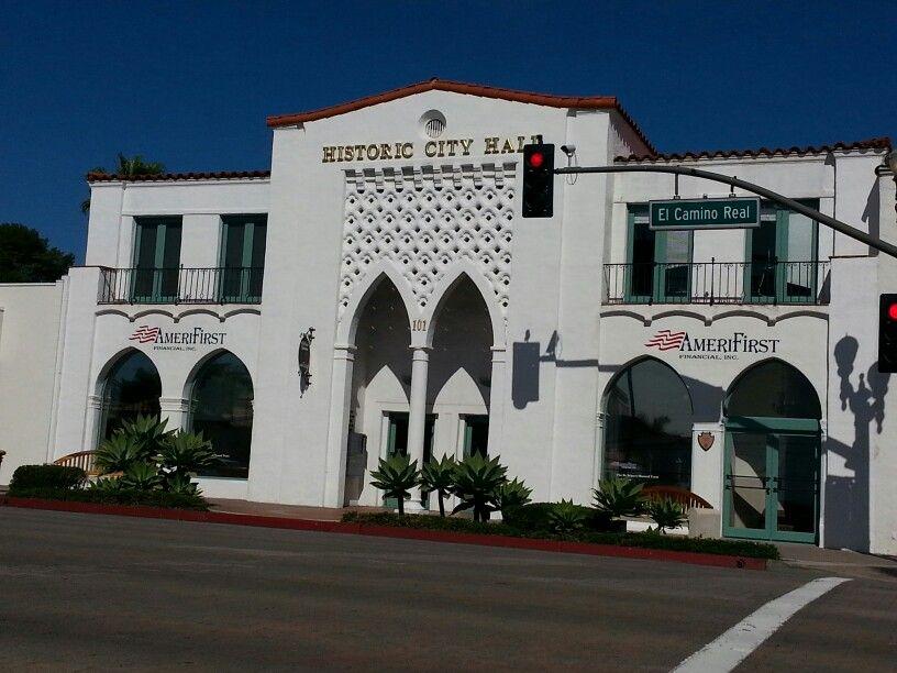 San Clemente City Hall Top Of Del Mar Avenue Laguna Beach California California Towns San Clemente Pier