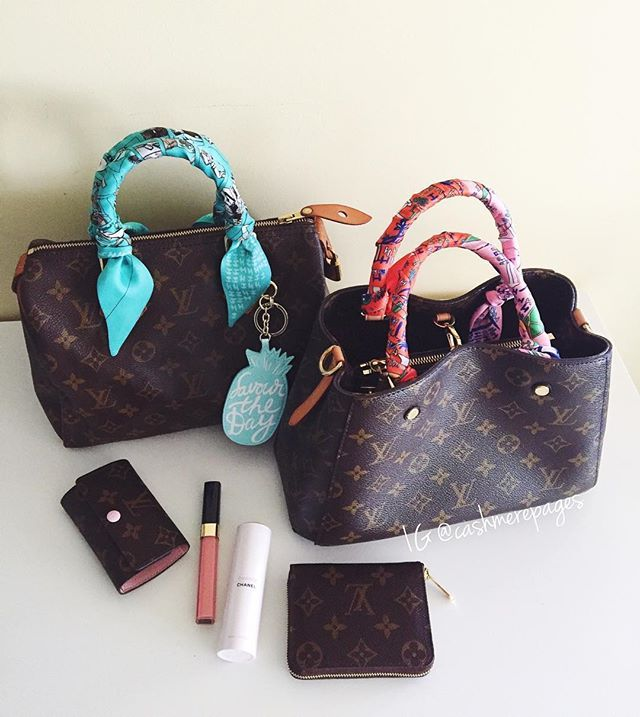 115f768ef77 Speedy 25 vs Montaigne BB I just love small size bags more than ...