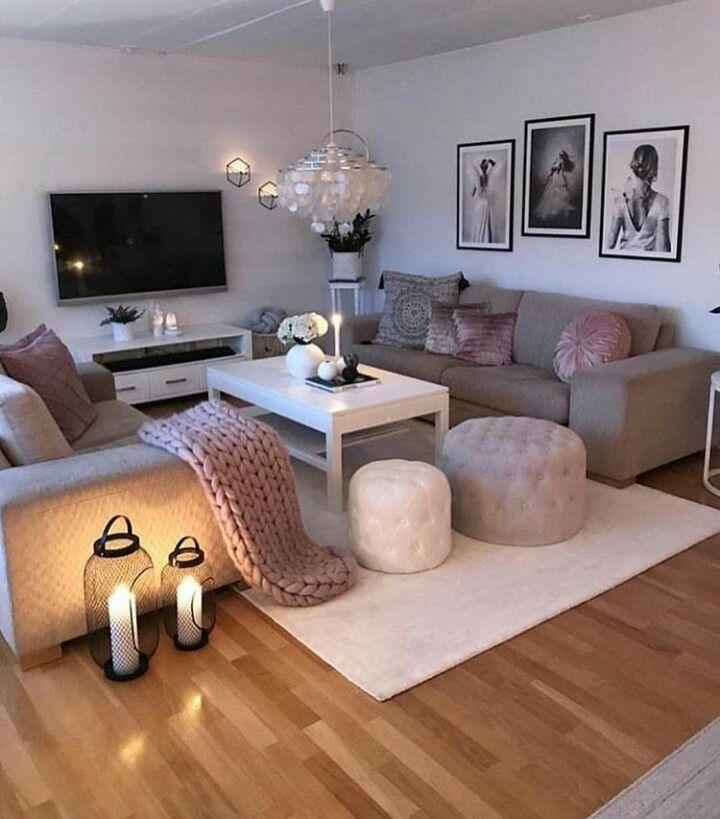Scandinavian Interior Decor Seedish Inspired Living Room With Grey Sofa And Pin Fabulous Living Room Decor Living Room Ideas 2019 Living Room Decor Apartment