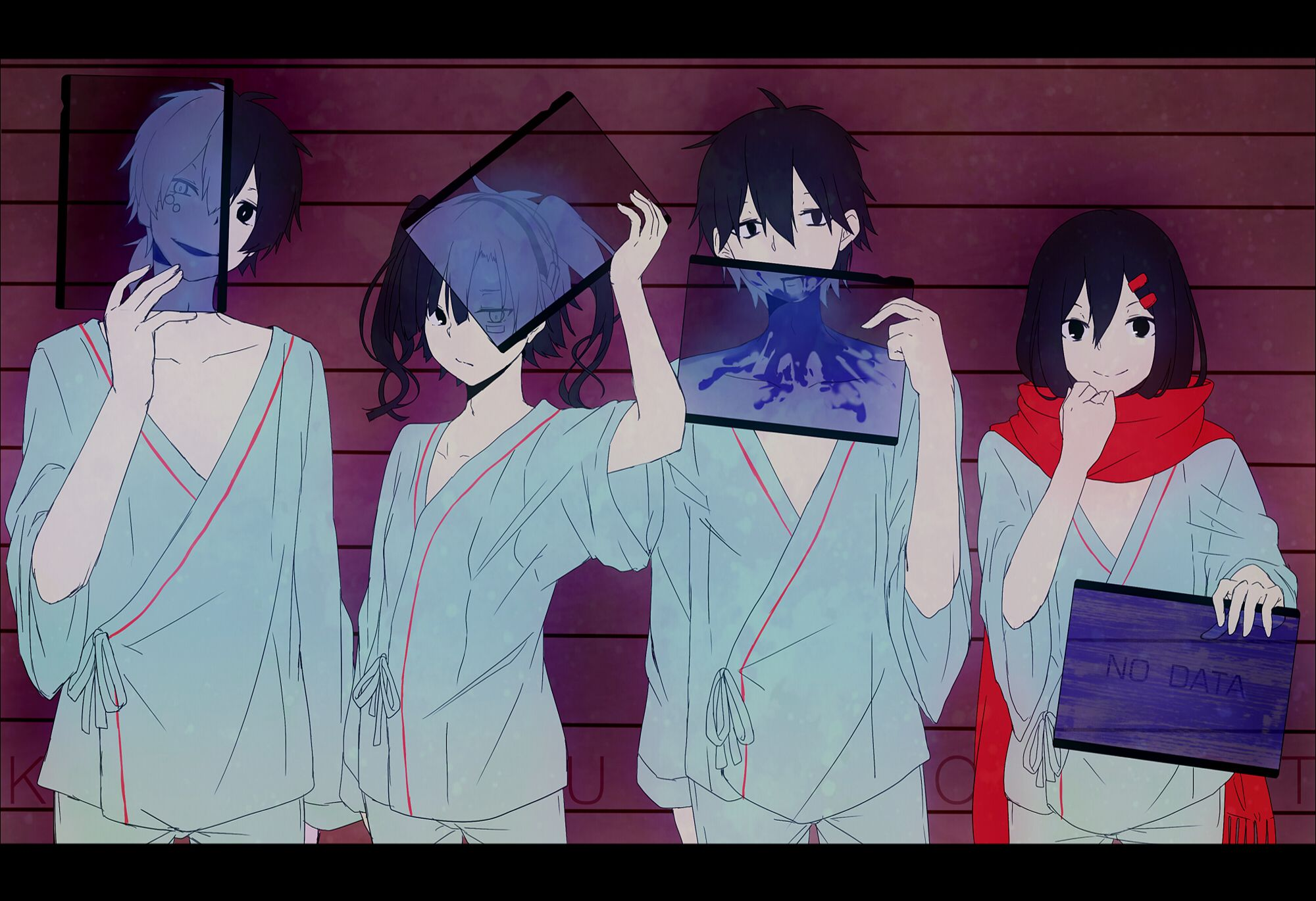 Kagerou Project Computer Wallpapers Desktop Backgrounds 2000x1370 Id 673577 Anime Kagerou Project Awesome Anime