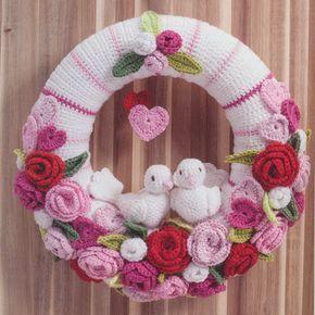 Haakpatroon Valentijnbruiloft Krans Minions