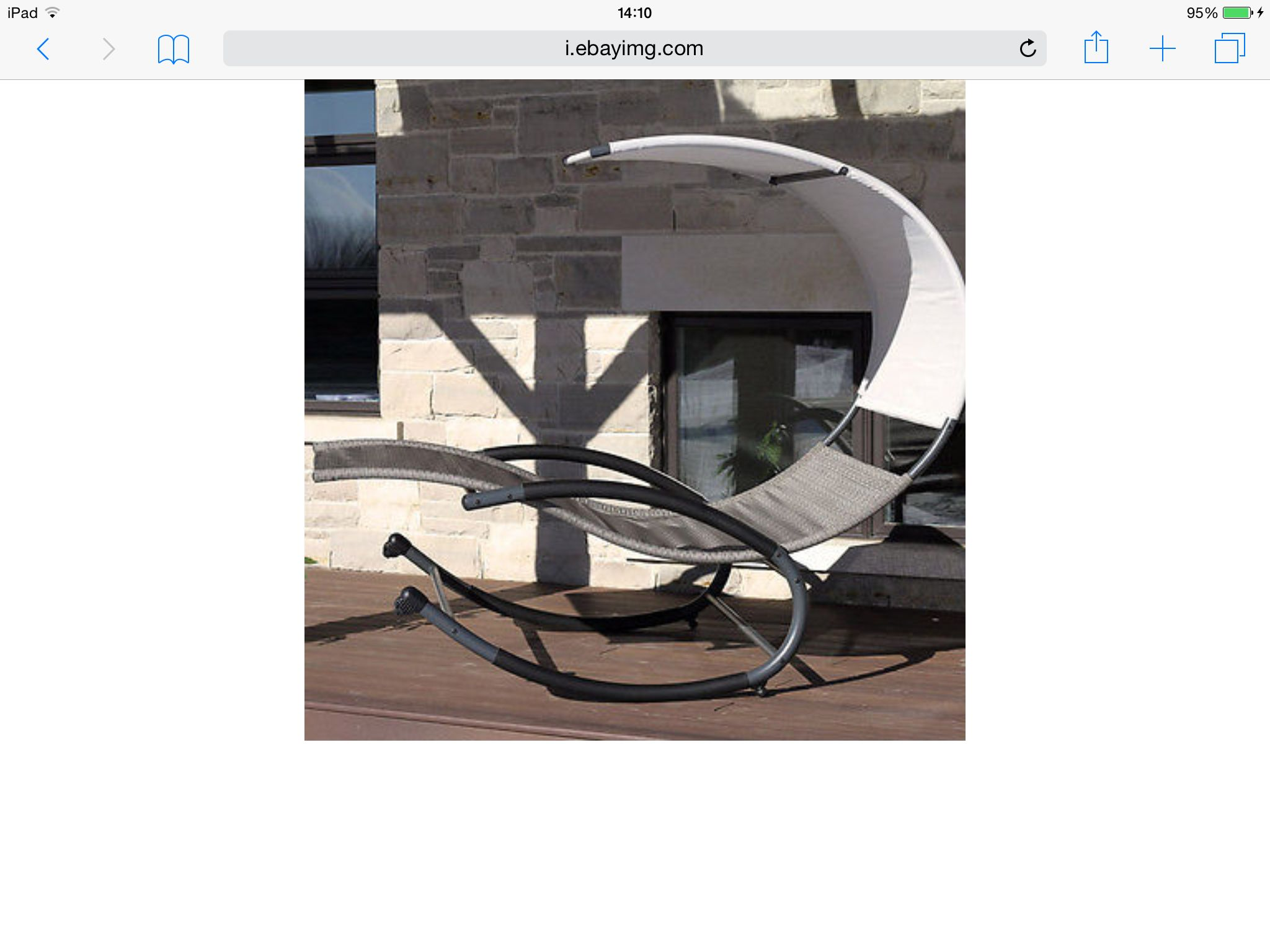 Sun chair with canopy (With images) Orbital lounger