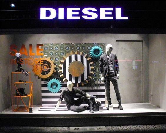 diesel window display | WINDOWS. in 2019 | Window display ...