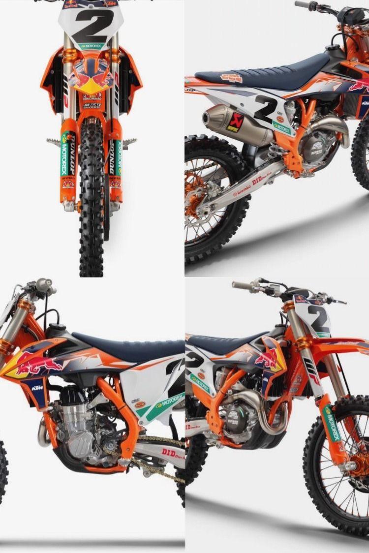 1st Peek 2021 5 Ktm 450sx F Factory Edition Ktm Red Bull Ktm Dirtbikes