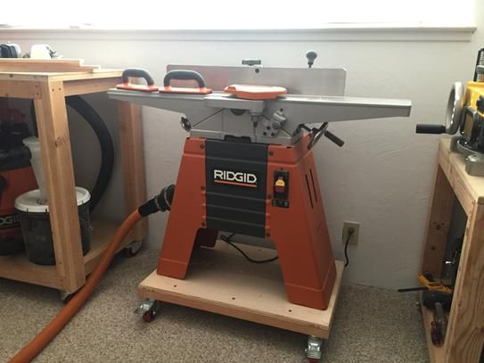 Ridgid 6 Amp Corded 6 1 8 In Jointer Planer In 2019