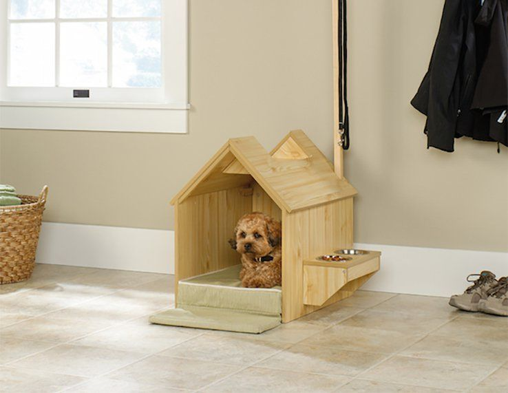 Inside Dog House Your Pet S Home Within A Home Dog House Bed