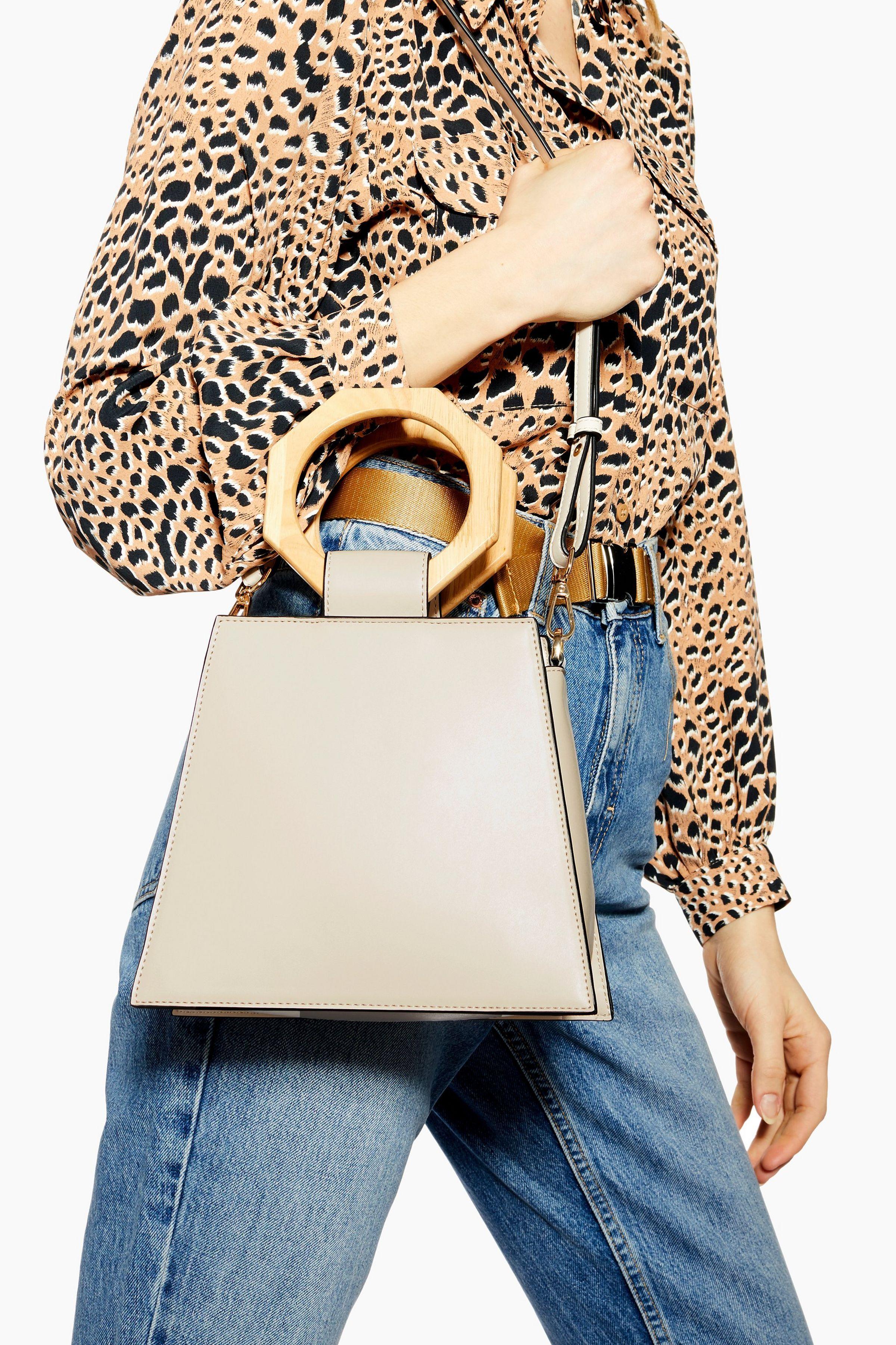 NEW Stunning Ladies Designer Inspired PU Leather Handbag Shoulder Tote Grab Bag