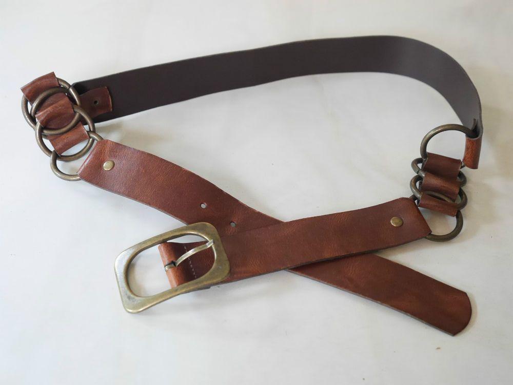Details zu Toller Jeansgürtel - Echt Leder- Gr 105 braun NEU MEGA PREIS !!  KLASSE. Designer GürtelEbay a0c3e52923