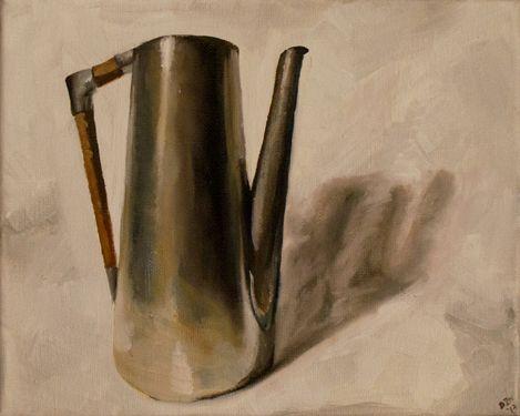 Oil paintings, mid-century, realism Clean Slate: 30x30 - Year 2
