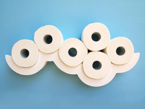 toilet paper shelf white cloud papier toilette tablette et nuage. Black Bedroom Furniture Sets. Home Design Ideas
